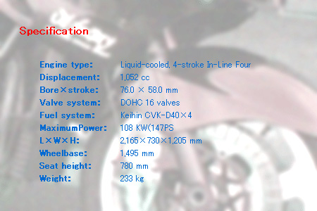 ZZR1100_Specification