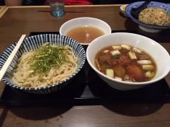 つけ麺(超太麺です)