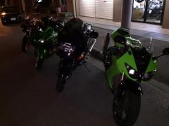 新旧色々なバイクがいます