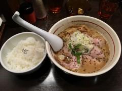 胡麻チャーシューらーめん+ライス
