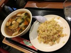 広東麺&半チャーハン