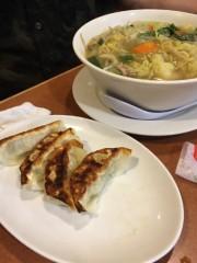 180円の餃子と野菜タンメン